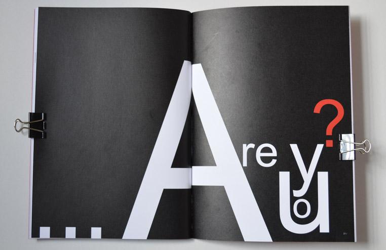 book print design 6 typefaces ergun karaman digital design studio